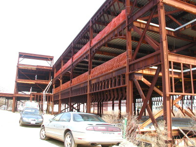 Structural steel renovation. (Medical Facility-Queens, NY)