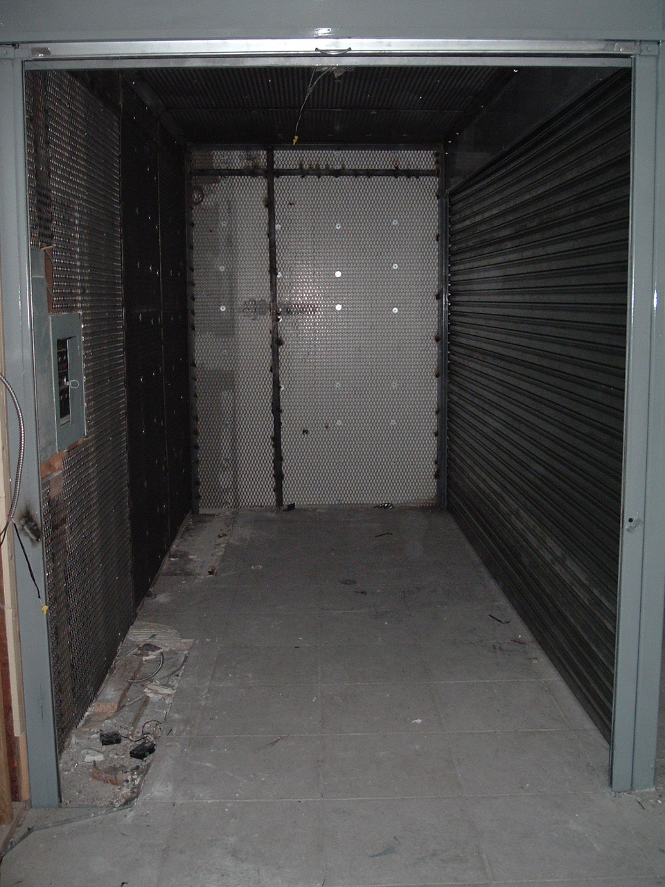 Expanded Metal Steel Mesh Welded Cage Security Room With