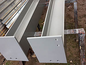 beam column steel I-beam