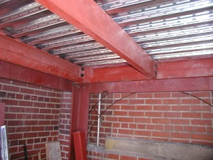 structural steel beam metal fabrication