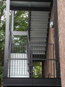 Metal Stairs New York