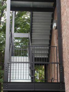 Metal Stairs New York