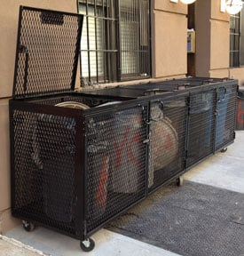 Rodent Proof Garbage Bins