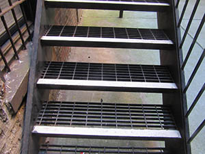 Steel Grating Steps