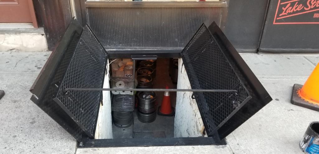 Sidewalk Cellar Doors Hatches Basement Access Door Steel Fabricator
