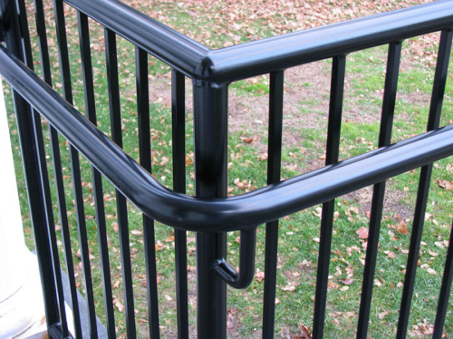 Pipe picket railings ADA Railing