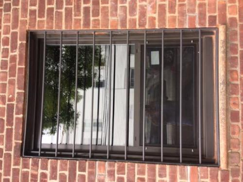 window guards round bar  flat stock