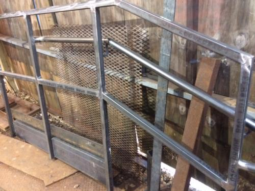 tube pipe railing metal