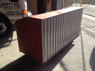 Commercial Steel Garbage Bin