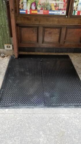 sidewalk hatch filler panel back