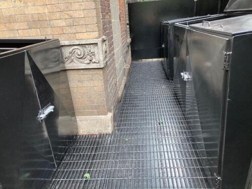 steel plate structural steel grating top floor steel plates welded custom garbage bins